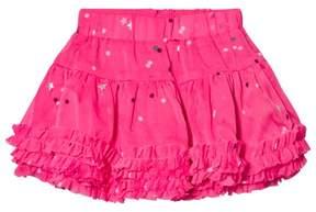 Joules Pink Star Print Ruffle Tutu