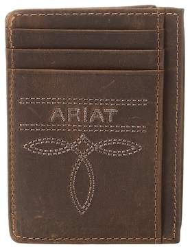 Ariat Fancy Scroll Toe Bug Card Case Credit card Wallet