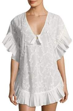 6 Shore Road by Pooja Whiteshore Lace Cotton Cover-Up
