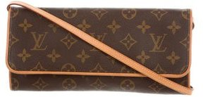 Louis Vuitton Monogram Pochette Twin GM - BROWN - STYLE
