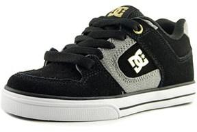 DC Manteca Round Toe Suede Skate Shoe.