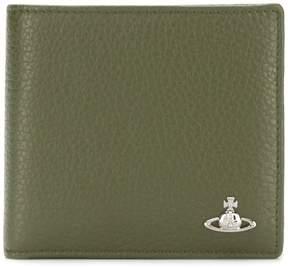 Vivienne Westwood foldover logo wallet