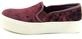 Bar III Womens Hugo Fabric Low Top Slip On Fashion Sneakers.