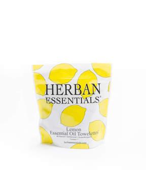 Herban Essentials Mini Lemon Essential Oil Towelettes