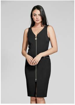 GUESS Sleeveless Zipper Dress