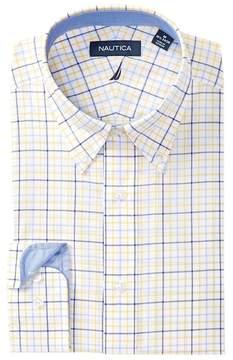 Nautica Sunray Tattersall Classic Fit Dress Shirt