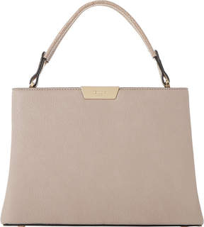 Dune Dulice faux-leather box top handle bag
