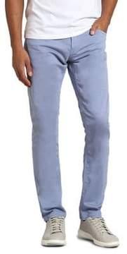 Mavi Jeans Zach Stone Wash Twill Straight-Leg Jeans