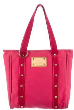 Louis Vuitton Antigua Cabas MM - PINK - STYLE