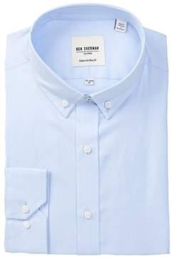 Ben Sherman Blue Tailored X-Trim Fit Dress Shirt