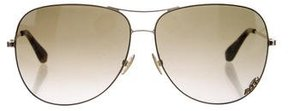 Marc by Marc Jacobs Gradient Aviator Sunglasses