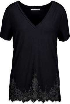 Tart Collections Daryl Lace-Trimmed Stretch-Modal Jersey Top