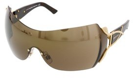 Swarovski Sk0052/s 30g Brown Mask/shield Sunglasses.