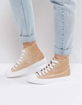 Park Lane Velvet Hitop Sneakers