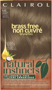 Clairol Natural Instincts Brass Free Brunettes