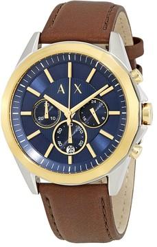 Armani Exchange Drexler Chronograph Blue Dial Men's Watch