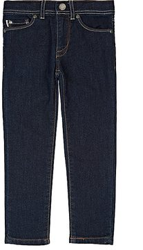 Paul Smith Kids' Stretch-French Terry Fitted Jeans