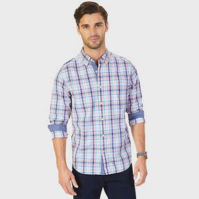 Nautica Plaid Classic Fit Button-Down Shirt
