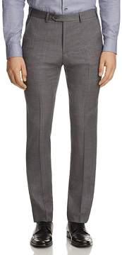 Armani Collezioni Tonal Crosshatch Classic Fit Dress Pants