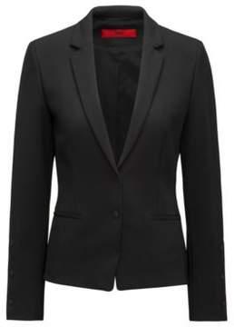 HUGO Boss Two-Button Blazer Aminca 2 Black