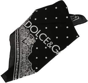 Dolce & Gabbana Logo Bandana Foulard