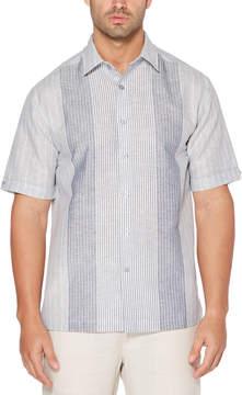 Cubavera Subtle Stripe Panel Shirt