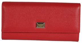 Dolce & Gabbana Classic Continental Wallet - RED - STYLE