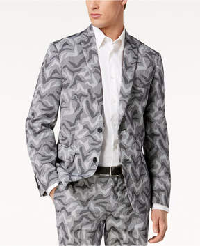 INC International Concepts I.n.c. Men's Slim-Fit Camo Jacquard Blazer, Created for Macy's