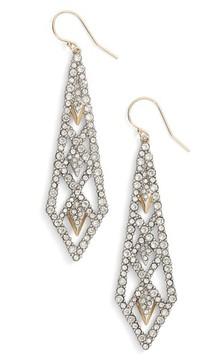 Alexis Bittar Women's Crystal Encrusted Drop Earrings