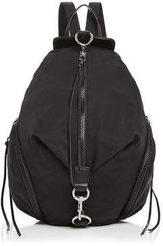 Rebecca Minkoff Julian Nylon Backpack - BLACK/SILVER - STYLE