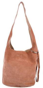 Elizabeth and James Finley Courier Suede Hobo w/ Tags