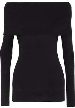 Autumn Cashmere Off-The-Shoulder Cashmere Sweater