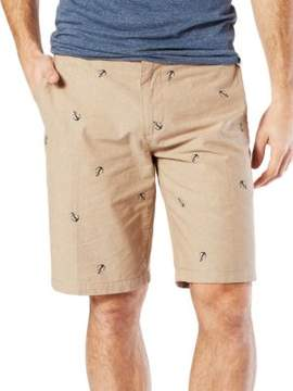Dockers Printed Cotton-Blend Shorts