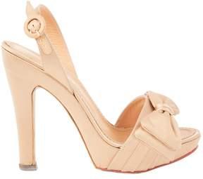 Ermanno Scervino Cloth heels