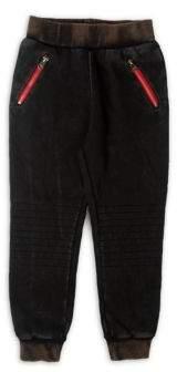 True Religion Toddler's, Little Girl's & Girl's Moto Fleece Jogger Pants