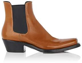 CALVIN KLEIN 205W39NYC Men's Spazzolato Leather Chelsea Boots