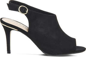 Office Mario faux-suede slingback courts