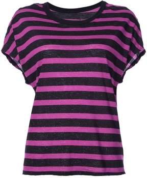 RtA Striped Short Sleeve T-Shirt