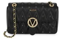 Mario Valentino Quilted Leather Crossbody Bag