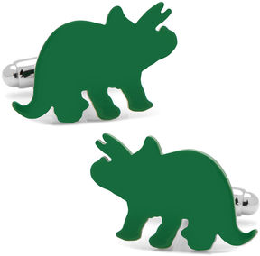 Asstd National Brand Triceratops Dinosaur Cuff Links