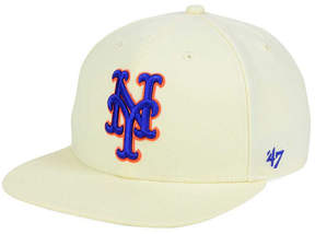 '47 New York Mets Natural No Shot Snapback Cap
