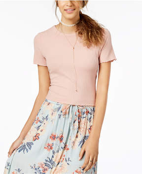 American Rag Juniors' Bow-Back Crop Top, Created for Macy's