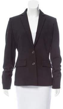 Antonio Berardi Lace-Up Wool Blazer