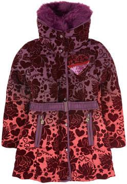 Desigual Jacquard knit coat