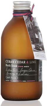 Bath House Cuban Cedar + Lime Bath Soak by 300ml Soak)