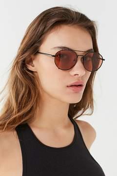 Quay Little J Aviator Sunglasses