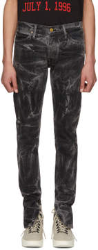 Fear Of God Black Selvedge Holy Water Jeans