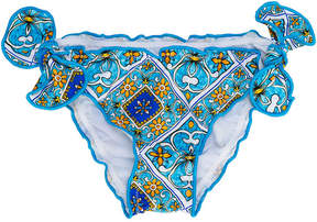 MC2 Saint Barth Kids printed bikini bottom