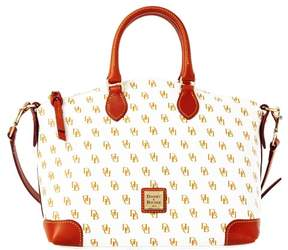 Dooney & Bourke Gretta Satchel - WHITE TAN - STYLE
