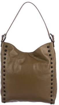 Loeffler Randall Studded Leather Satchel